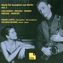 Music For Saxophone From Berlin - Vol. 2