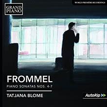 Gerhard Frommel - Klaviersonaten Nr. 4-7