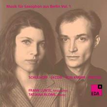 Musik für Saxophon aus Berlin - Vol. 1