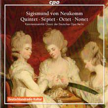 Sigismund Ritter von Neukomm - Quintet, Septet, Octet, Nonet